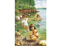 Картинки осень дети 2