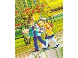 Картинки осень дети 8