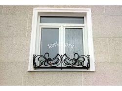 Кованые цветочницы на окна 2