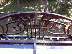 Кованые цветочницы на окна 7