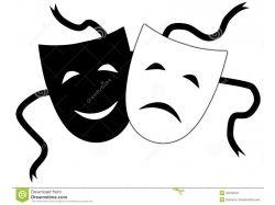 Театральные маски фото 1
