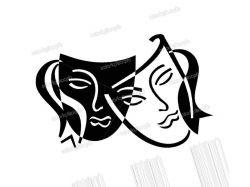 Театральные маски фото 4