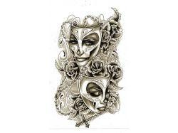 Театральные маски фото 6