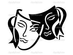 Театральные маски фото 8