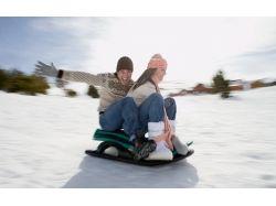 Фото девушки с парнем зимой 2