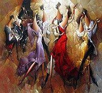 Картина танцы 2