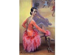 Картина танцы 6