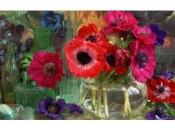Картинки ваза и цветы 4