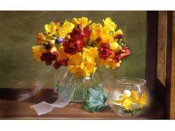 Картинки ваза и цветы 5