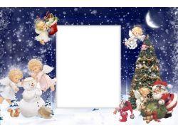 Новогодние ангелочки картинки 1