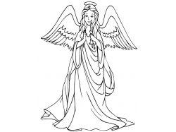 Новогодние ангелочки картинки 7