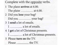 Английские глаголы в картинках 4