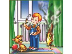 Картинки о пожаре 8