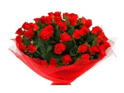 Картинки букет красных роз 2