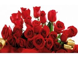 Картинки букет красных роз 8