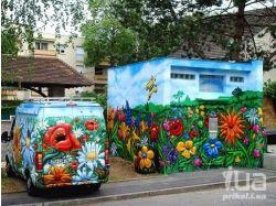 Цветы граффити 7