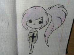Рисунки граффити карандашом 3