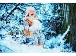 Красивые картинки со снегом 3