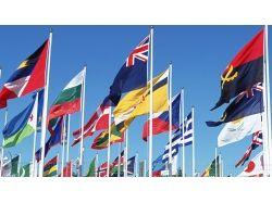 Обои флаги