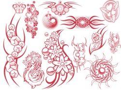 Картинки цветы тату