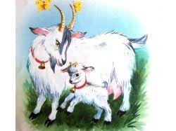 Картинка коза