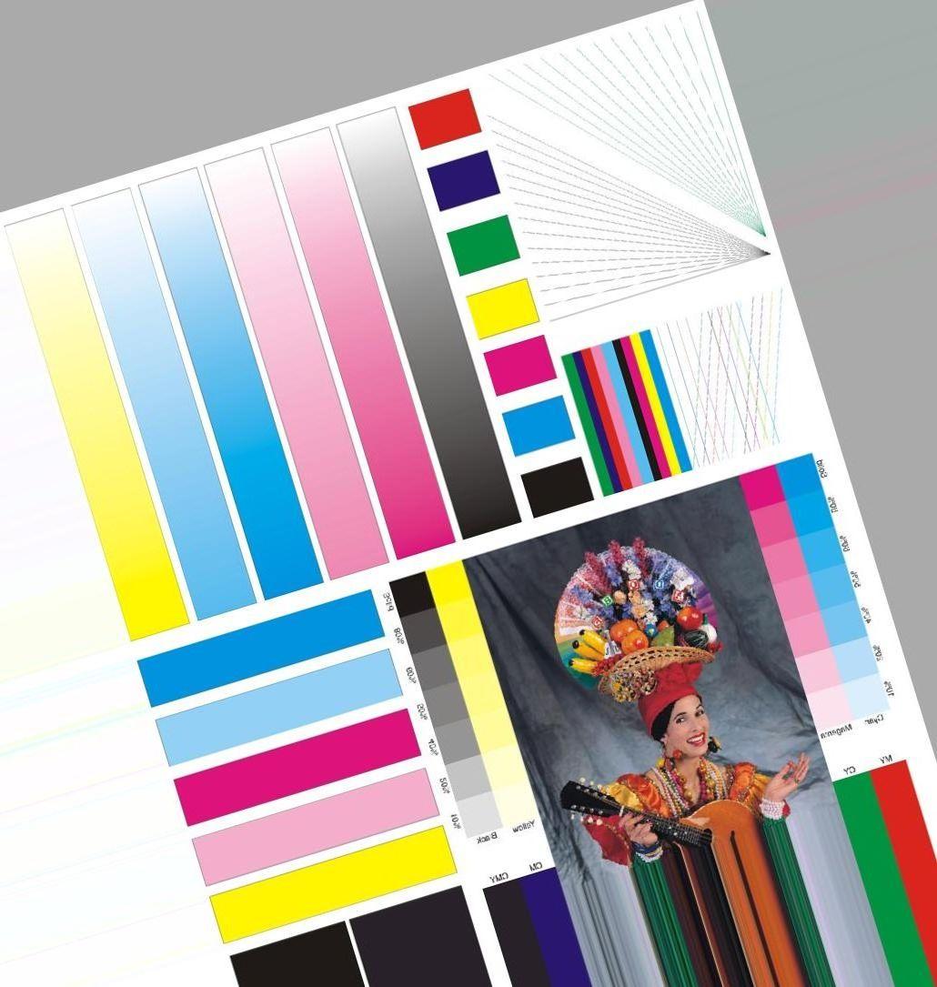 фасадов тестовая картинка для цветного струйного принтера рекордов гиннеса