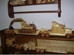 Модели машин из дерева