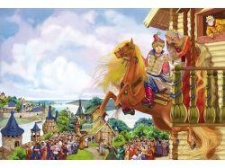 Картинки из сказки сивка бурка