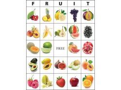 Рисованные картинки овощей и фруктов