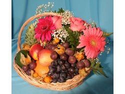 Картинки цветы и фрукты