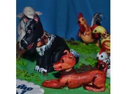 Торт животные фото 9