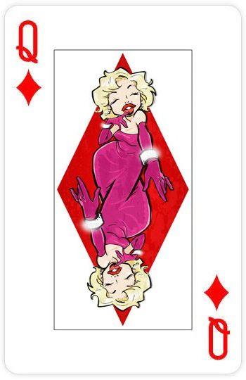 Прикольные картинки на игральных картах, летия свадьбы