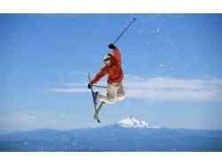 Картинки спорт лыжи