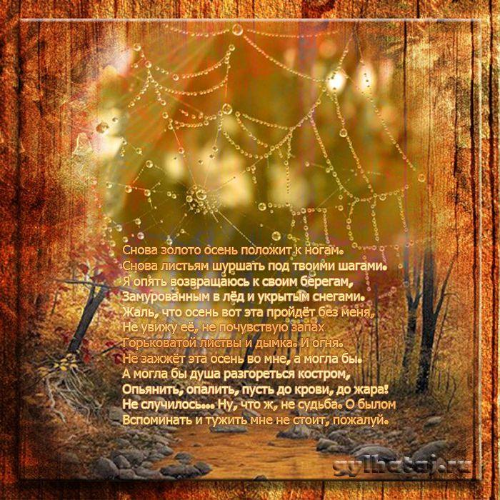 стих про осень смешной очень используют как паре