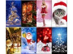 Скачать новогодние картинки бесплатно на телефон