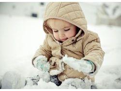 Фотографии детей зимой