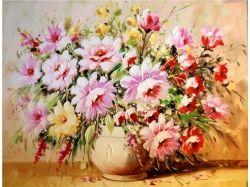Красивые цветы живопись