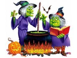 Картинки хэллоуин ведьмы