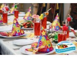 Детский праздник 4 года меню и развлечения как накрыть стол на детский праздник фото