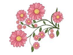 Цветы рисованные картинки