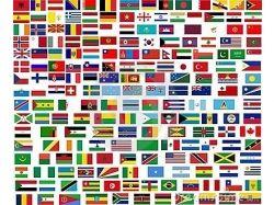 Флаги и их названия
