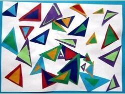 Картина из геометрических фигур