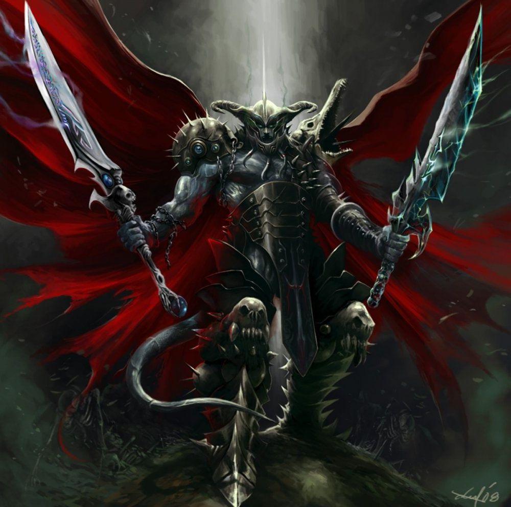 демонический рыцарь картинки дома пусть вас