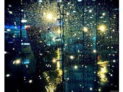 Дождь по стеклу фото