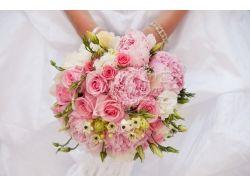 Свадебные букеты на стол фото