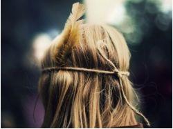 Фото блондинок зима