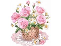 Фото красивых букетов цветов роз