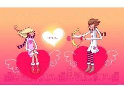 Креативные картинки о любви