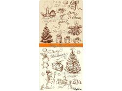 Подарки на новый год рисунки