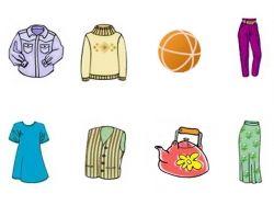 Одежда для детей рисунки